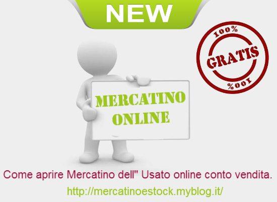 Aprire mercatino usato online conto vendita apertura for Vendita arredamento usato online