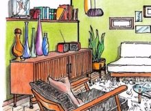 salotto-in-stile-vintage